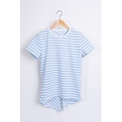 Tshirt Sail - light blue