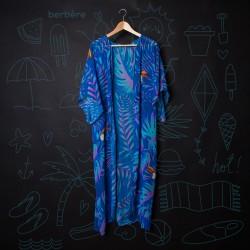 Plážové kimono - Blue...
