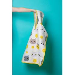 Poncho Towel - Kitty