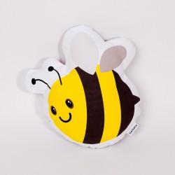 Dekoračný vankúš - Včielka