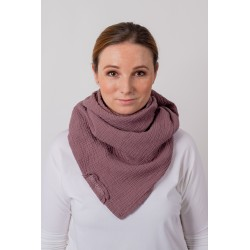 Muslin scarf Square -...