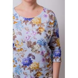 Tshirt Basic Flower - light...