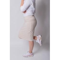 Skirt Pencil - sand