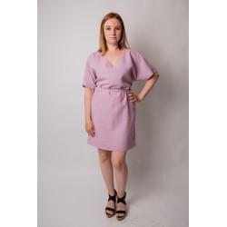 Dress Linen Love - lilac