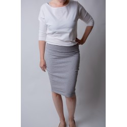 Skirt Pencil - light grey