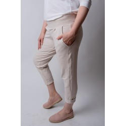 Trousers CASUAL - sand